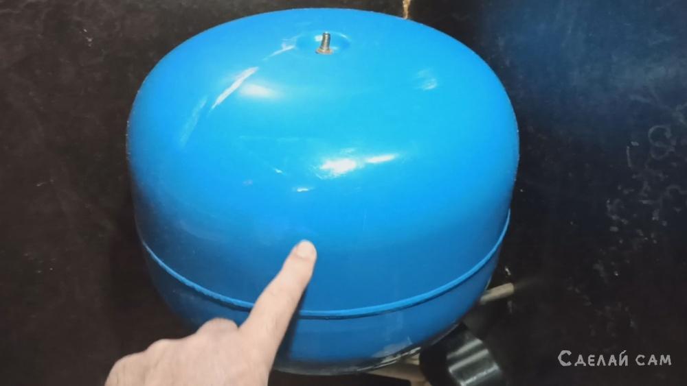 Как подкачать давление в гидроаккумуляторе насосной станции.