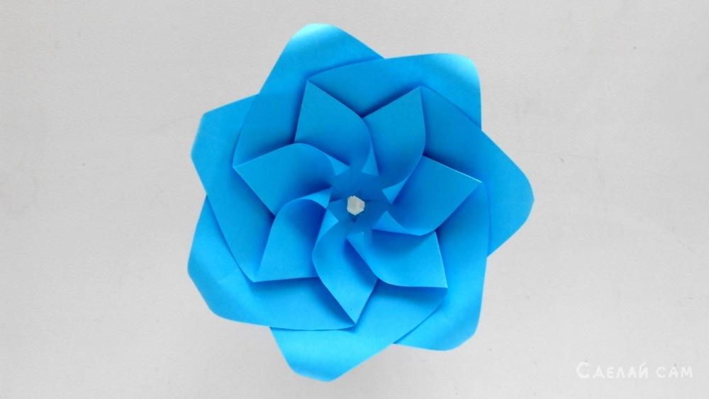 Как сделать реалистичные бумажные розы ???? красивый оригами цветок
