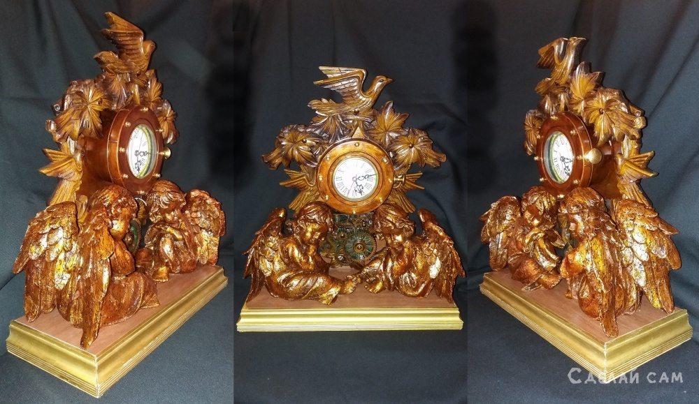 Часы с Ангелами.