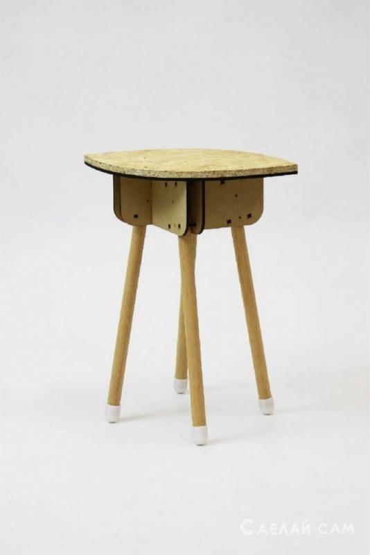 Модульный стул своими руками
