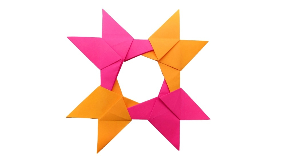How to Fold an Origami Star (Shuriken) (with Pictures) - wikiHow | 562x1000