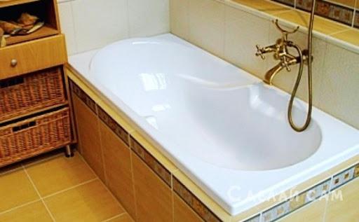 Ремонт акриловых и чугунных ванн своими руками
