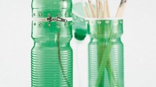 Универсальный чехол из пластиковой бутылки.