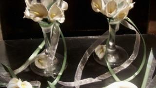 Каллы из полимерной глины