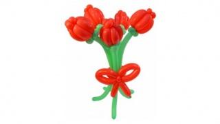 Букет тюльпанов из ШДМ