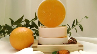Мыло ручной работы Апельсин