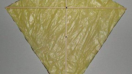 Воздушный змей из полиэтиленового пакета своими руками