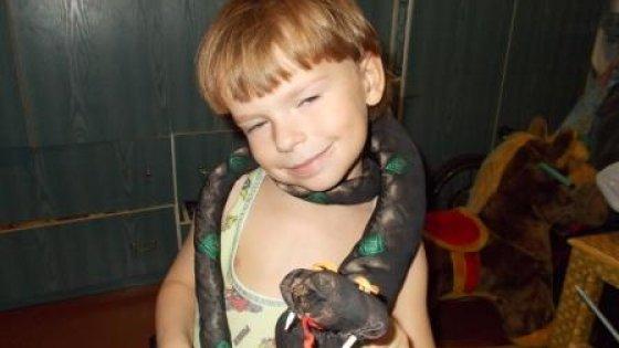 змея из галстука