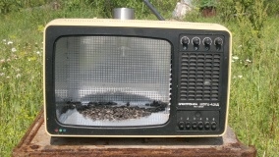 Кормушка из телевизора