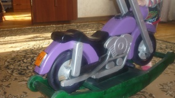 Детский мотоцикл-качалка