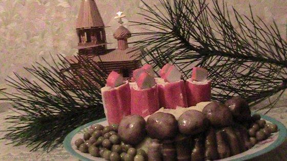 красивое блюдо к Рождеству