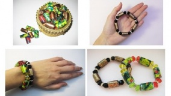 DIY Оригинальные браслеты из пластиковых бутылок. Мастер класс \ Bracelets from plastic bottles