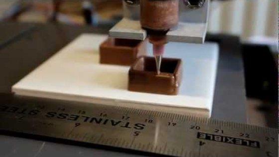 Шоколадный 3D принтер.mp4