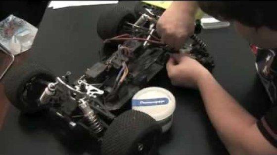 Ремонт RC модели багги