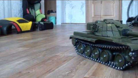 rc танк своими руками