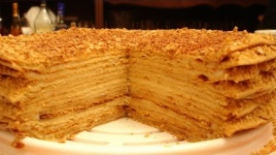 Медовый торт Старинный.Готовим вместе.