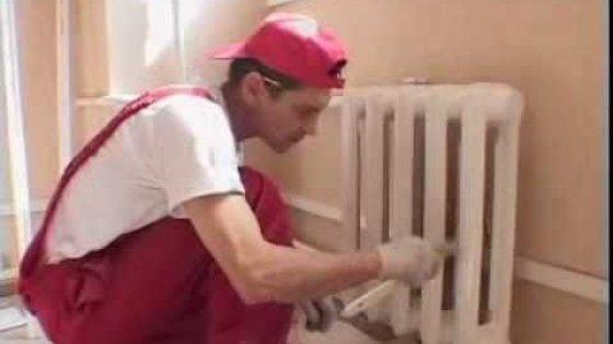 8. Подготовка, покраска окон, дверей и радиаторов
