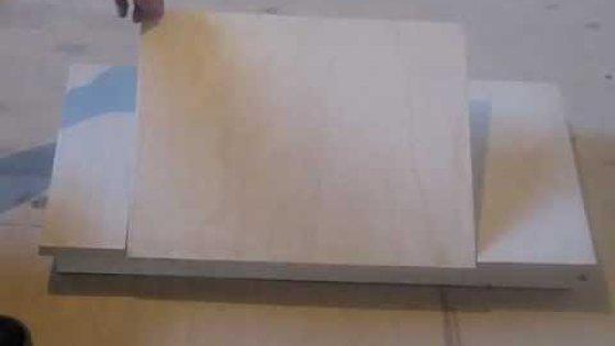 Столик для ноутбука своими руками. Часть 1
