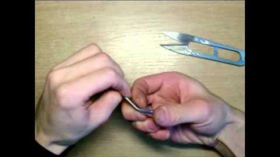Сделай Сам В домашних условиях - Прошивной крючок своими руками