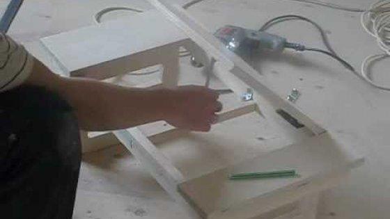 Столик для ноутбука своими руками. Часть 2