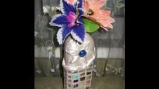 Ваза в технике Папье маше. Мастер-класс \ Vase in papier mache \ Paper crafts