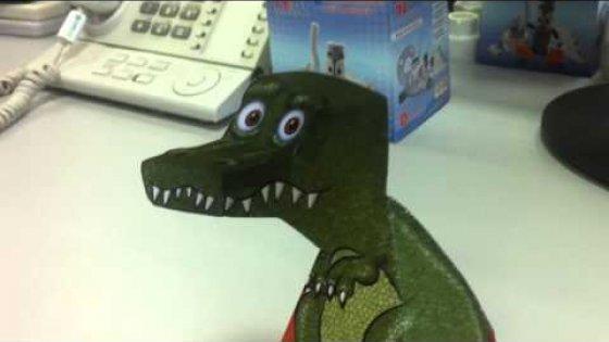 Настольный тираннозавр