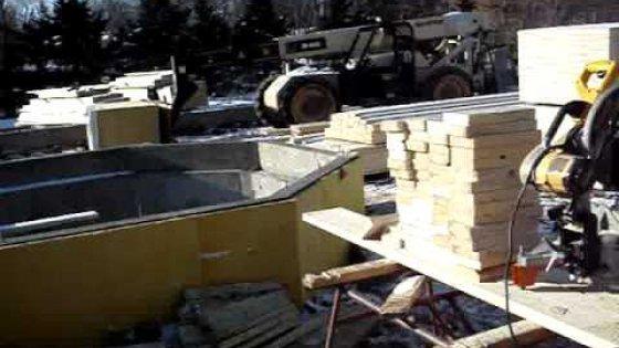Как в Америке строят дома.