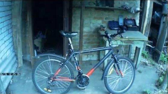 Покраска велосипеда. Paint a bike