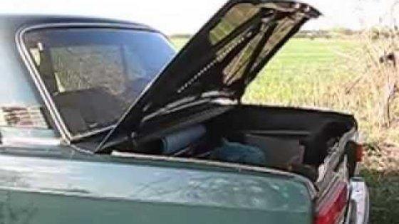Автоматическое полное открывание багажника на ВАЗ 2107