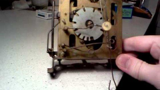 Механизм часов с Кукушкой