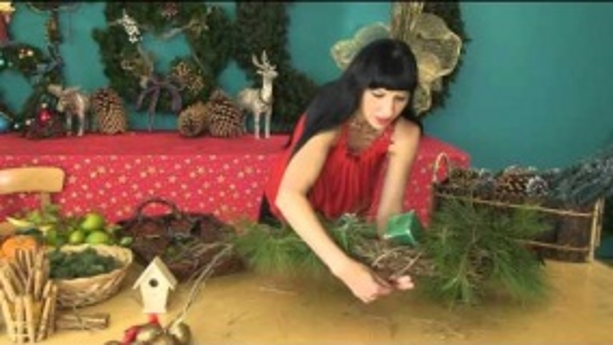 Новогодние Поделки: Рождественские Венки - Видео
