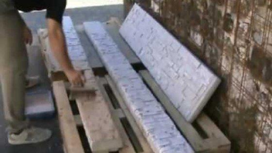 Покрасить бетон под камень - это просто!