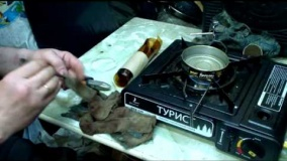 Бушкрафт Факел домашняя заготовка making a homemade torch for travel