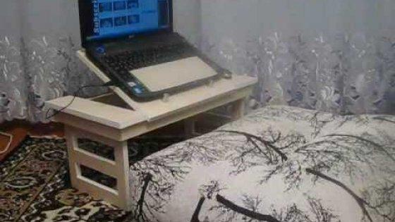 Столик для ноутбука своими руками. Часть 3