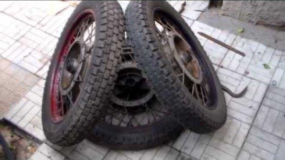 Покраска мотоциклетных дисков