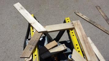 Деревянный стул из поддонов