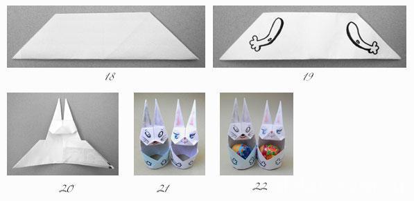 Подставки для яиц из бумаги своими руками