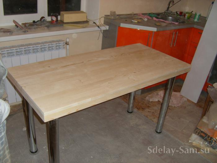 Стол кухонный своими руками фото