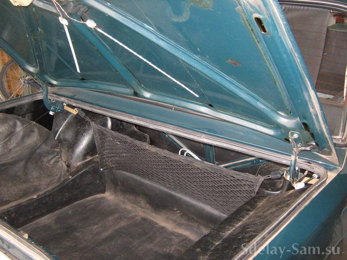 Фото багажника ваз 21099