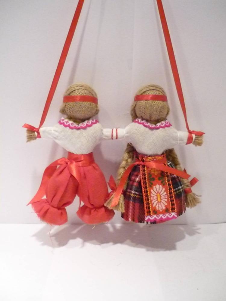Куклы обереги для молодоженов своими руками 10