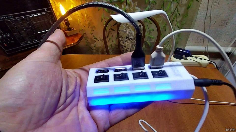 USB-хаб высокоскоростной разветвитель из Китая.