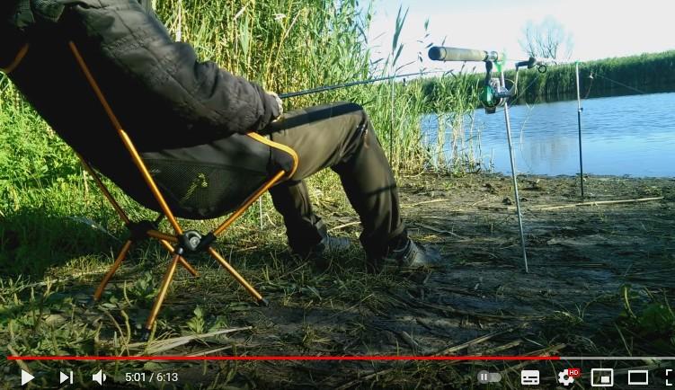 Сверхлегкий складной стул для рыбалки из Китая.