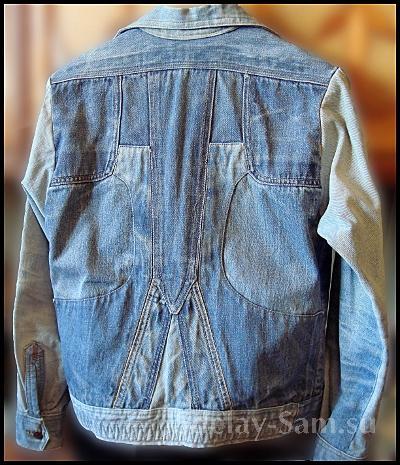 Джинсовка из старых джинсов