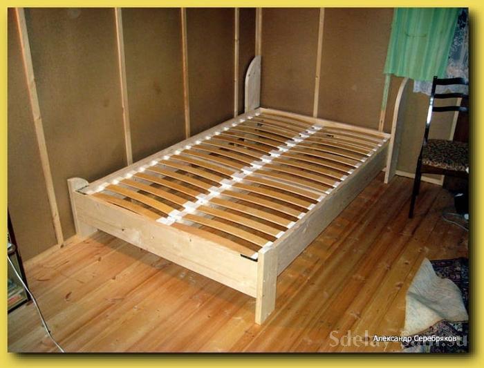 Сделай сам кровать двуспальная своими руками