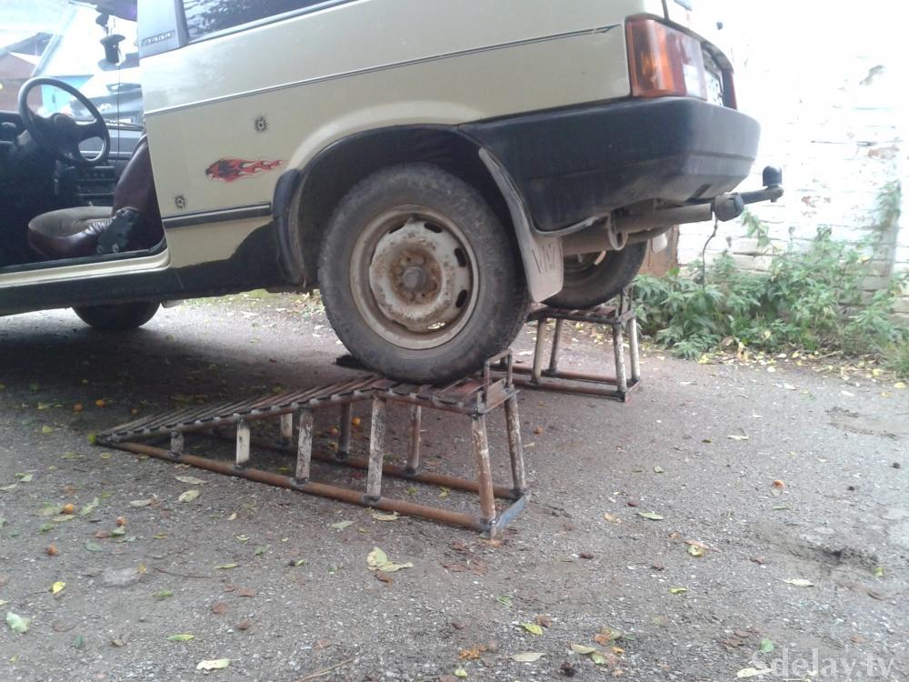 Автомобиль в гараже своими руками
