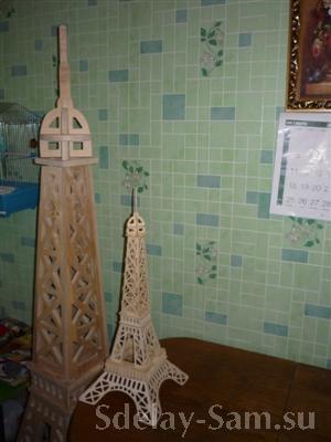 чертежи эйфелевой башни из фанеры