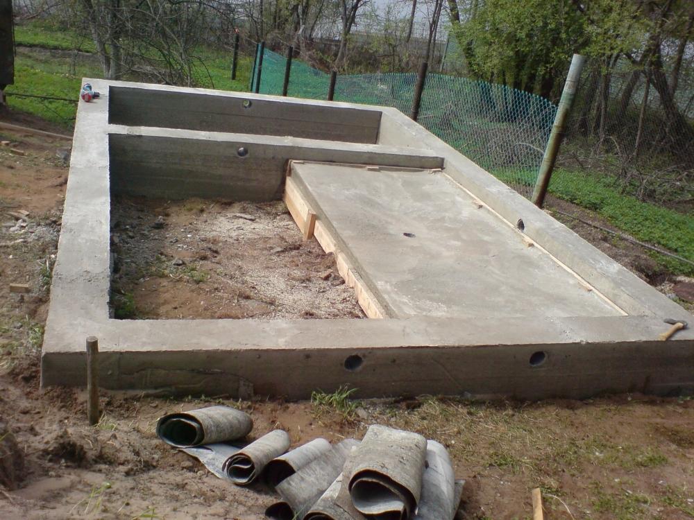 Фундамент баня проекты фото