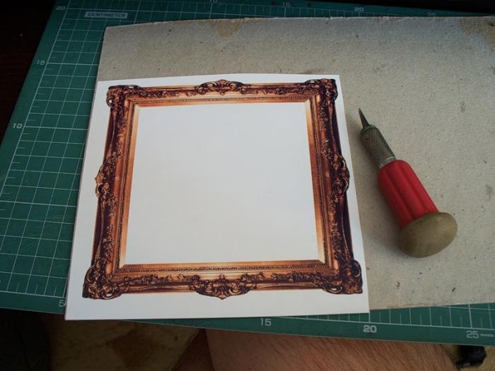 Как сделать из 2 фото в рамке одно 12