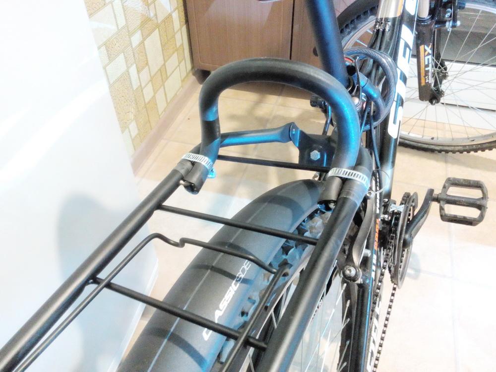 Багажник на горный велосипед своими руками