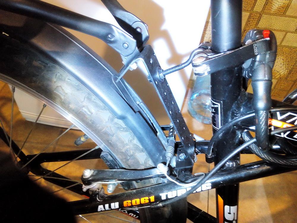 Багажник для горного велосипеда своими руками 40